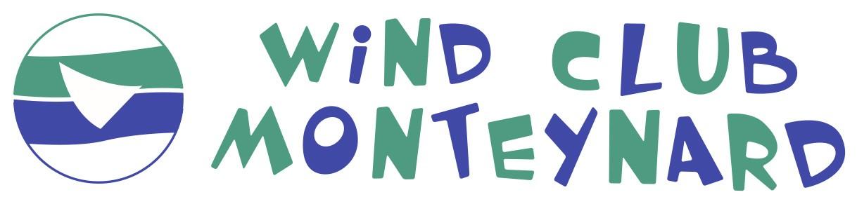 Logo wind club 10cm vectorise
